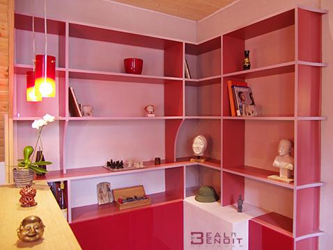 biblioth que design benoitbeal. Black Bedroom Furniture Sets. Home Design Ideas